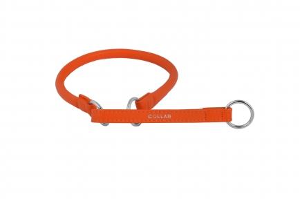 Collar Glamour ошейник-удавка S (оранжевый) 40см
