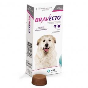 Bravecto жевательня таблетка от блох и клещей для собак для очень больших пород 40-56кг