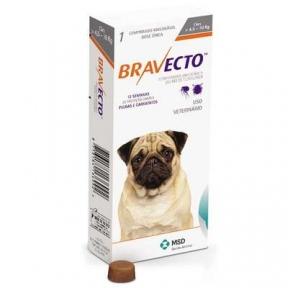 Bravecto жевательня таблетка от блох и клещей для собак для мелких пород 4,5-10кг