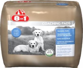 8in1 Coach 60x60 Пеленки для собак 30шт