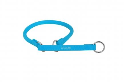 Collar Glamour ошейник-удавка L (голубой) 60см