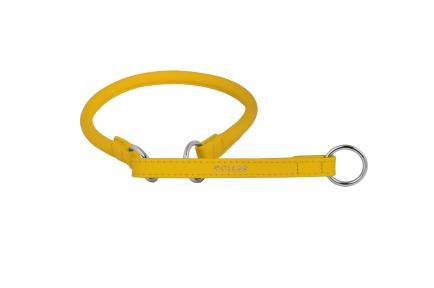Collar Glamour ошейник-удавка L (желтый) 60см