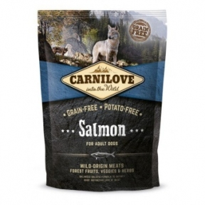 Carnilove Salmon&Turkey Large Breed  беззерновой сухой корм для взрослых собак крупных пород 1.5kg
