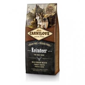Carnilove Raindeer Беззерновой сухой корм для взрослых собак всех пород 12kg