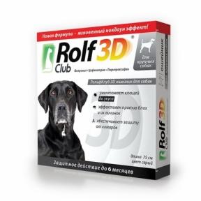 Rolf Club Ошейник от блох для собак крупных пород 75 см