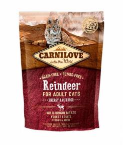 Carnilove Raindeer Energy&Outdoor беззерновой сухой корм с северным оленем 400g