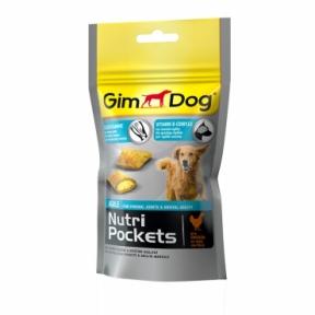 Gimdog Nutri Pockets с курицей и глюкозамином 45г