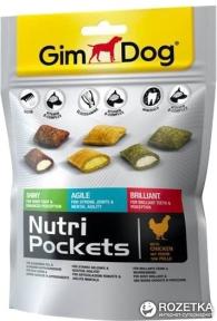 Gimdog Nutri Pockets с курицей 150г
