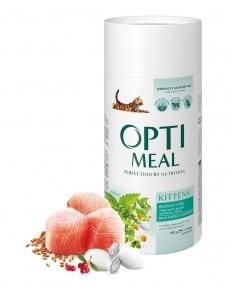 OptiMeal сухой корм для котят с курицей 650г