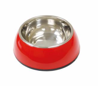 Croci Bubbles Red миска для собак 0,5л/17,5см