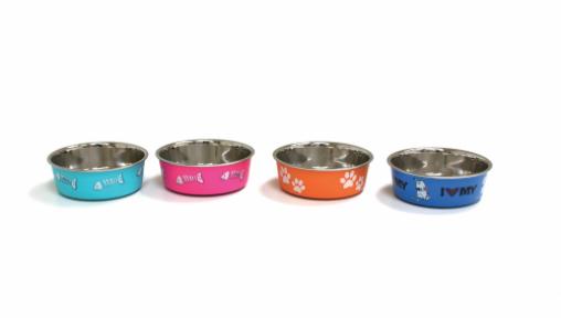 Croci Roxy Миски для собак в ассорт. 0,45л/14см