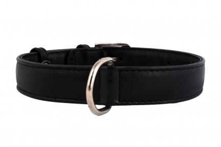 Collar Glamour ошейник без украшений XS 9мм 18-21см черный