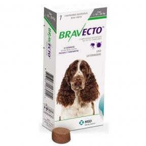 Bravecto жевательня таблетка от блох и клещей для собак для средних  пород собак 10-20кг