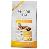 ProFine LIGHT натуральное мясо индейки и рис для котов и кошек с избыточным весом 1,5kg