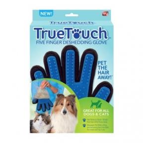 True Touch для вычесывания шерсти у животных 24х17см