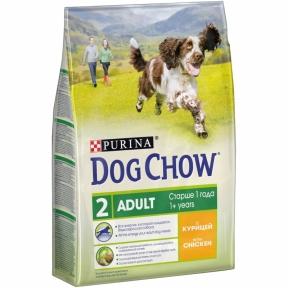 Purina Dog Chow Adult со вкусом курицы 2.5 кг