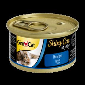 Gimpet ShinyCat лакомство для котов с тунцом 70g
