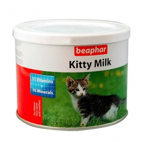 Beaphar Kitty Milk – заменитель молока для котят 200г