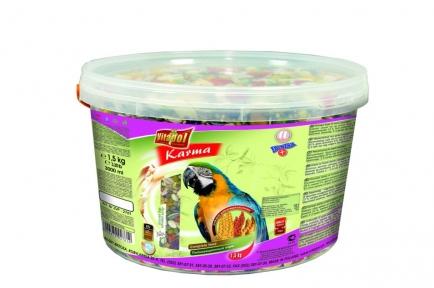 Vitapol KARMA - корм для крупных попугаев 1,5кг