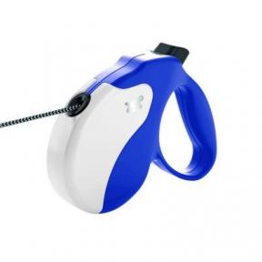 Ferplast Amigo Рулетка для собак синий 5m max 12kg шнур