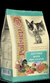 Ройчер дары моря для котов, 0,4кг