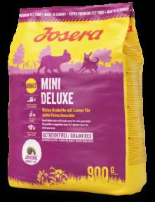 Josera Mini Deluxe Беззерновой корм для собак мелких пород 900g (1 шт)
