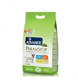 Advance ParasiStop Mini Adult - Корм для контроля кишечных паразитов собак 15kg