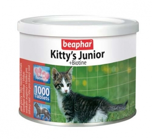 Beaphar Kitty's Junior Витамины для котят 1000шт