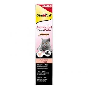 GimCat Anti-Hairball DuoPaste паста для котов с курицей шерстевывод 50г