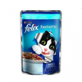 Felix Fantastic Треска 100g