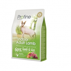 ProFine Indoor  (ягненок, для выведения шерстяных комочков) 2kg