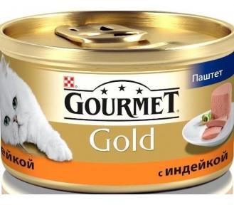 Gourmet Gold паштет с индейкой 85г