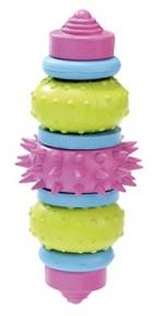 Croci игрушка для собак, литая шестеренка,резина 13см
