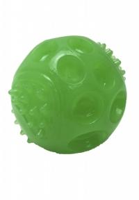 Croci GLOW, игрушка для собак, сквекбол, люминисцентная, высокопрочная резина, 7,5см