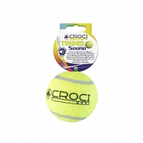 Croci, игрушка для собак,тенисный мяч, пищалка, 6,5см