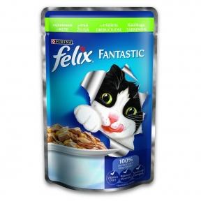 Felix Fantastic Кролик в желе 100g
