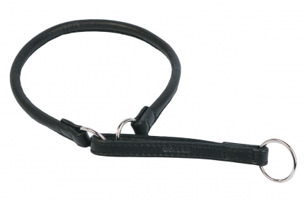 Collar Soft поводок-удавка черный 6мм/30см