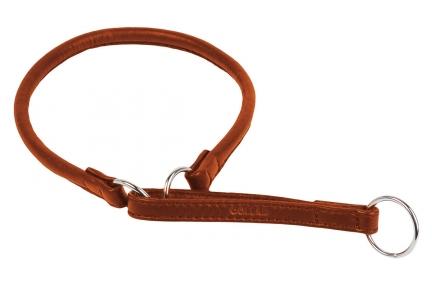 Collar Soft поводок-удавка коричневый 13мм/70см