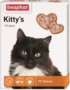 Beaphar Kitty's Protein Витамины для кошек 75шт (1 шт)