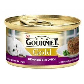 Gourmet Gold нежные ягненок и зеленая фасоль 85г