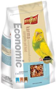 Vitapol Karma Economic для волнистых попугаев 1200г