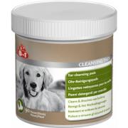8in1 Cалфетки для чистки ушей для собак 90шт