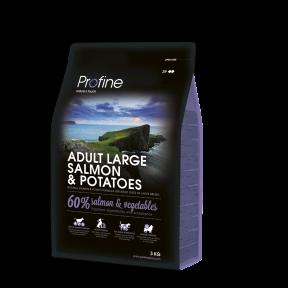ProFine ADULT LARGE BREED SALMON& POTATOES лосось и картофель для взрослых собак крупных пород 3kg