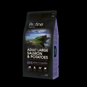 ProFine ADULT LARGE BREED SALMON& POTATOES лосось и картофель для взрослых собак крупных пород 15kg