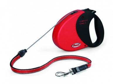 Flexi Comfort long 2 8m, трос, красный 20kg