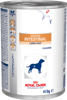 Royal Canin GASTRO INTESTINAL LOW FAT Canine консервы - лечебный корм для собак, 410g