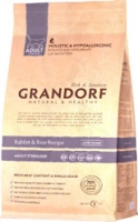 Grandorf Rabbit&Rice Recipe Adult Sterilized 400g