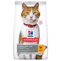 SP Hill's Young Adult Sterilised Cat with Chicken 10kg