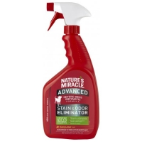 Natures Miracle Advanced Stain & Odor Eliminator, Lemon, for Dog 946 ml