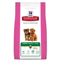 SP Hill's Puppy Small & Toy Breed with Chicken & Turkey 1.5kg